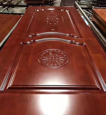 橡膠木門生產工藝