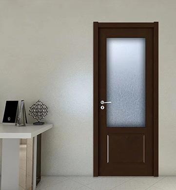 實木玻璃門安裝