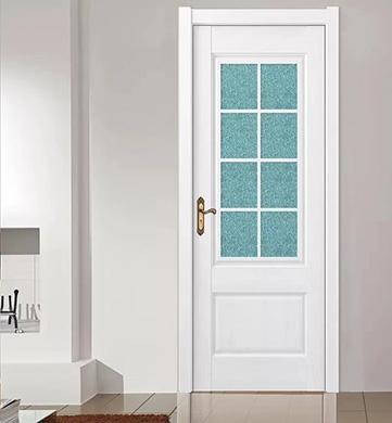 南昌实木玻璃门