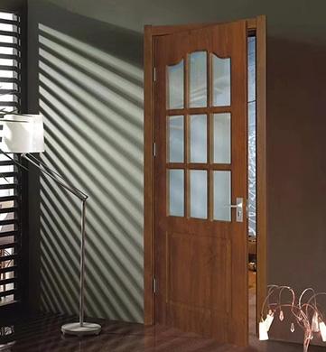 定南实木玻璃门