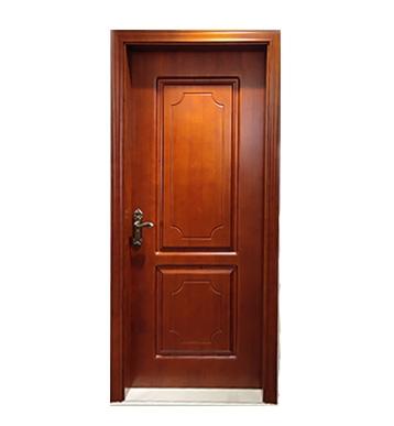 橡胶木门安装