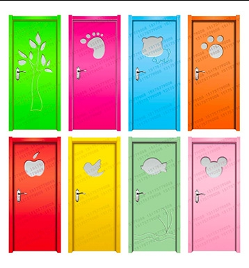 石城幼儿园木门安装