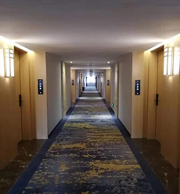定南酒店工程门价格