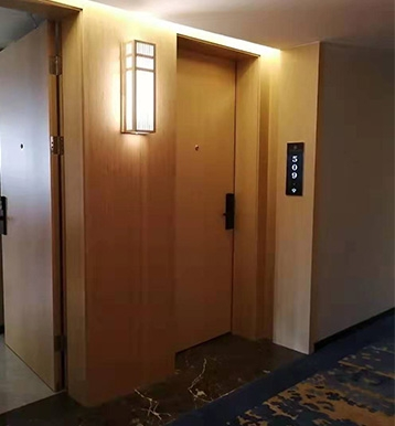 酒店工程门工艺