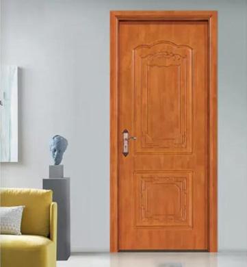 原木臥室門