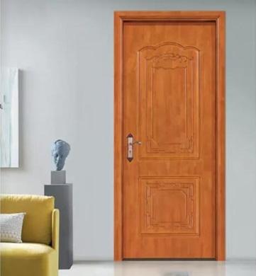 原木卧室门